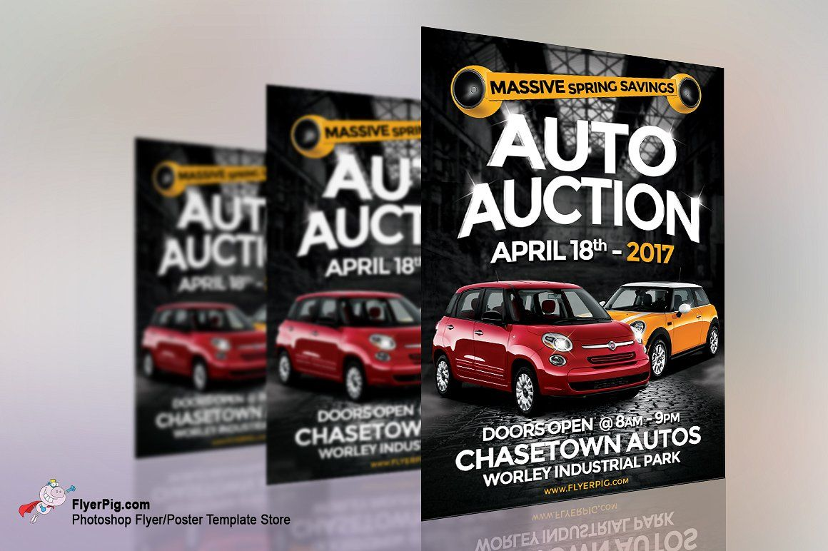 Auto Sales Flyer commercialprojectsworkStock Sale