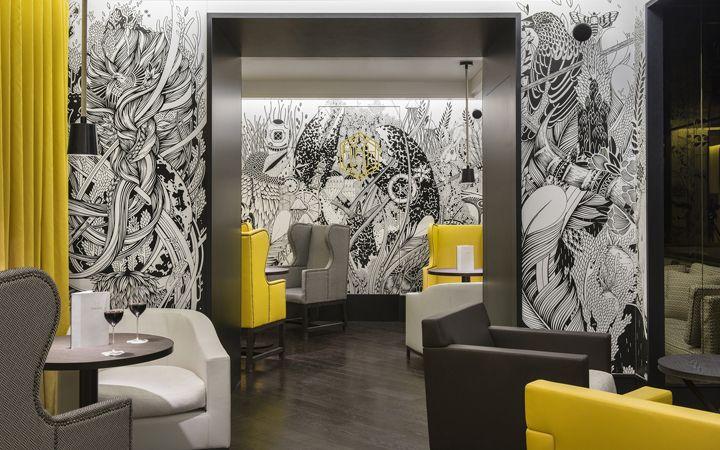 Hexagone paris france architecture retail and restaurant