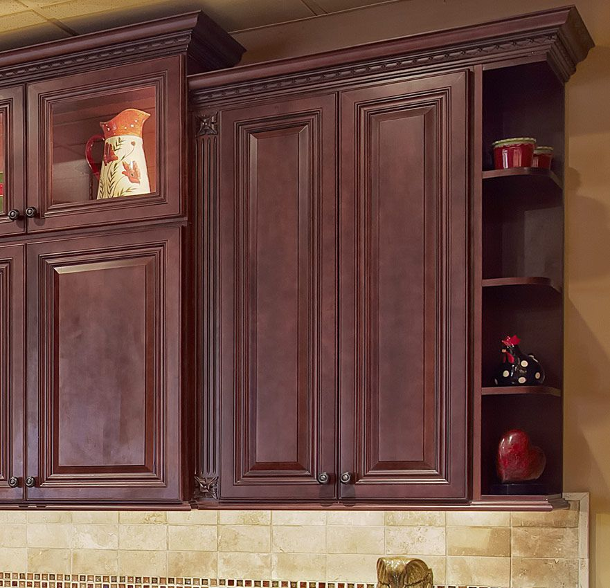 Solid Wood Cherry Kitchen Cabinets: Cherry Cabinets Montgomery County, New Jersey, Maple