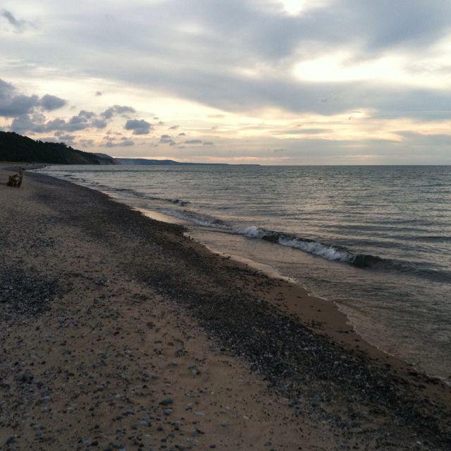 Beautiful Lake House Homes: Beautiful Lake Superior Sunset. Grand Marais.