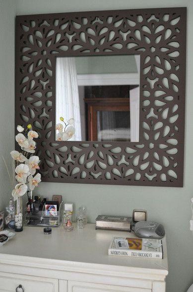 Line signdd for Disenos de espejos tallados en madera
