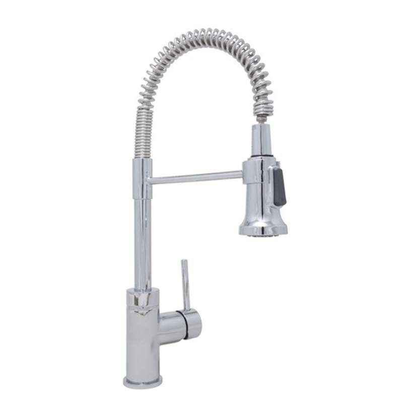 Mirabelle MIRXCPS101 Presidio Kitchen Faucet Polished Chrome Faucet ...