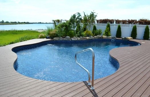Composite Decking Around Inground Pools Bing Images