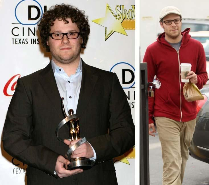 Seth Rogen Before and After Weight Loss