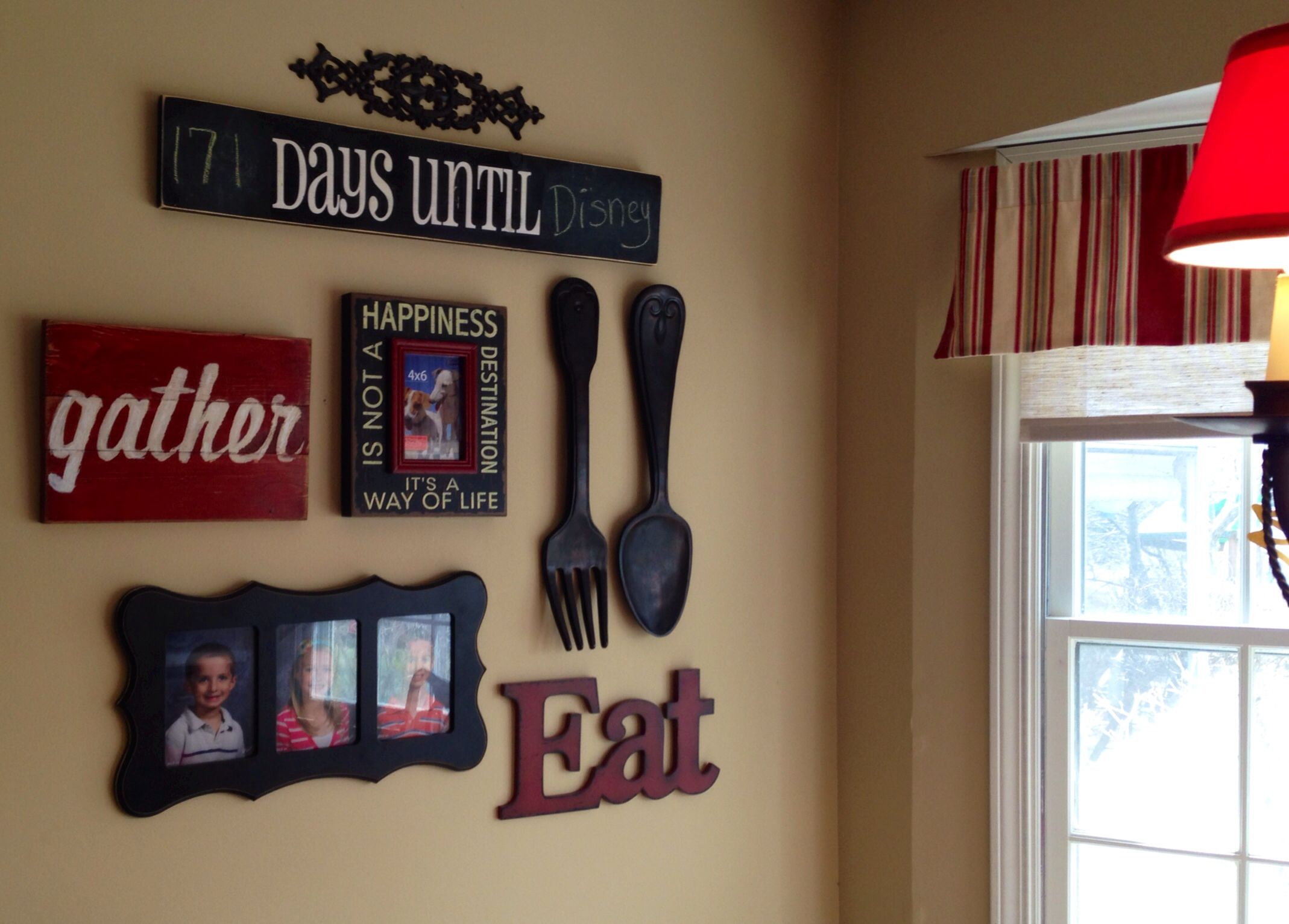 My Kitchen Gallery Wall Kitchen Gallery Wall House Decor Rustic