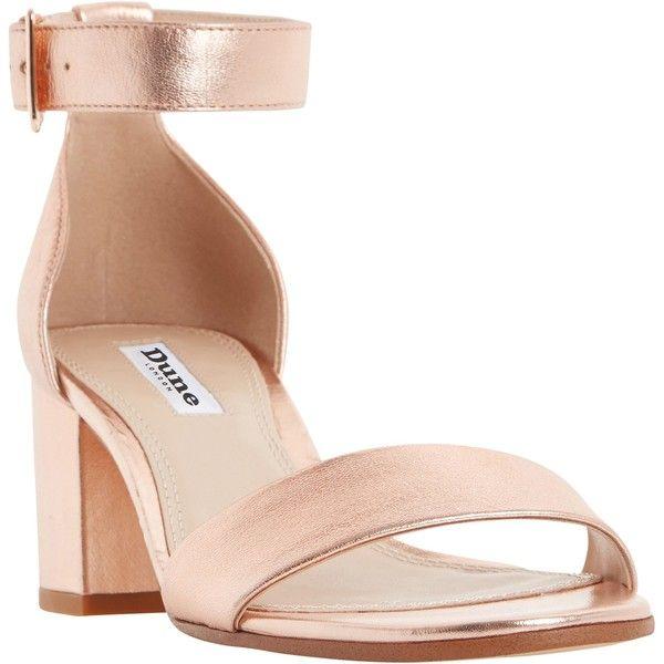 d49a4fa2ec9a Dune Jaygo Block Heeled Sandals