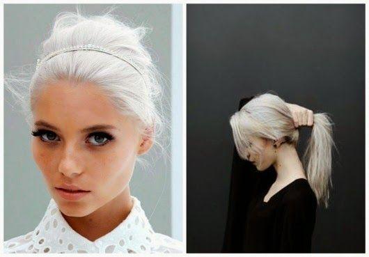 Chic Adicta, white hair, trends, trendy girl, pelo blanco, hipster style, fashionista, grey hair, Piensa en Chic www.PiensaenChic.com