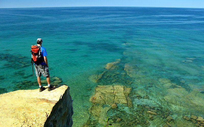 Grand Portal Point Pictured Rocks National Shoreline, Michigan
