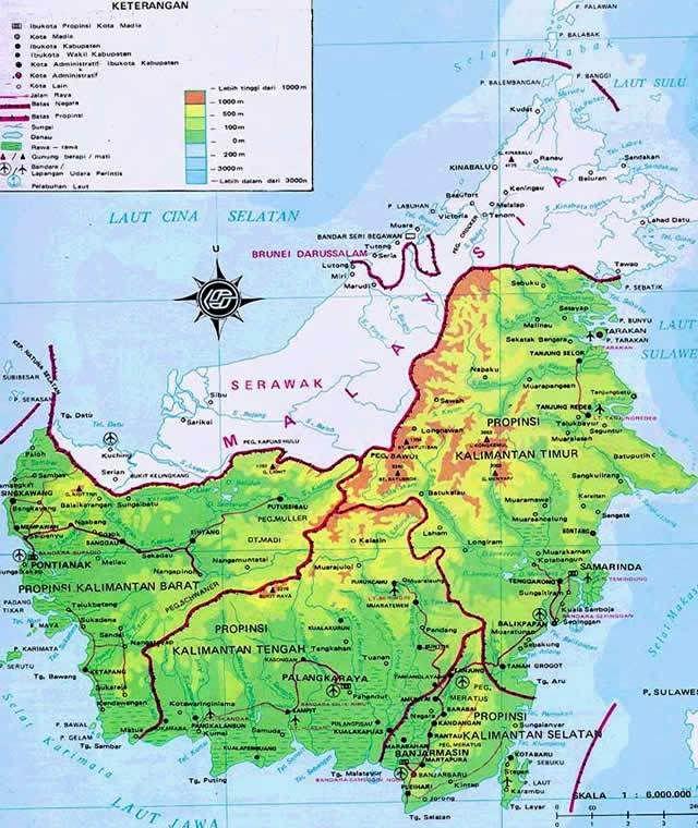 Hasil Gambar Untuk Peta Pulau Kalimantan Peta Sejarah Gambar