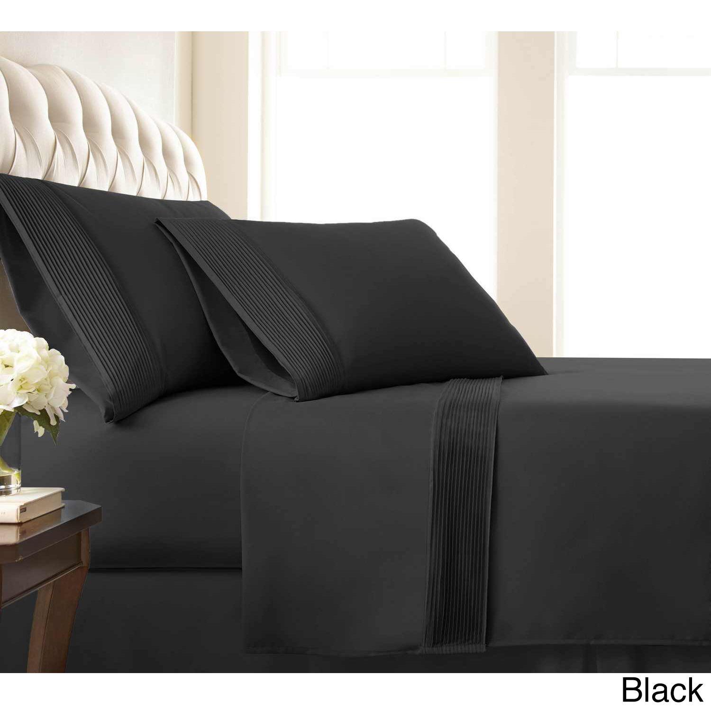 Vilano 21inch Extra Deep Pocket Pleated Bed Sheet Set
