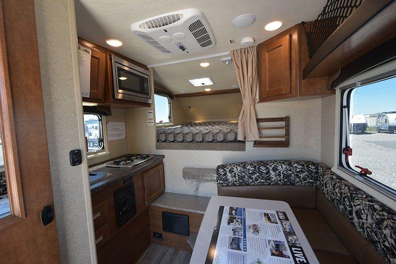 2019 Lance 650 Review Camper Interior Truck Camper Lance Campers