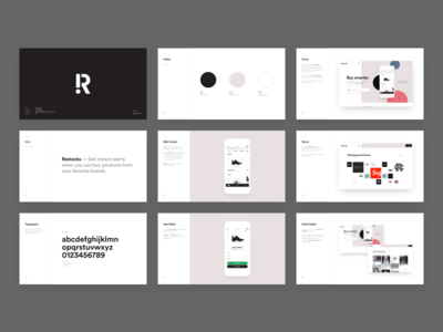 Restocks  Design Proposal Slides  Proposals Ui Ux And Behance