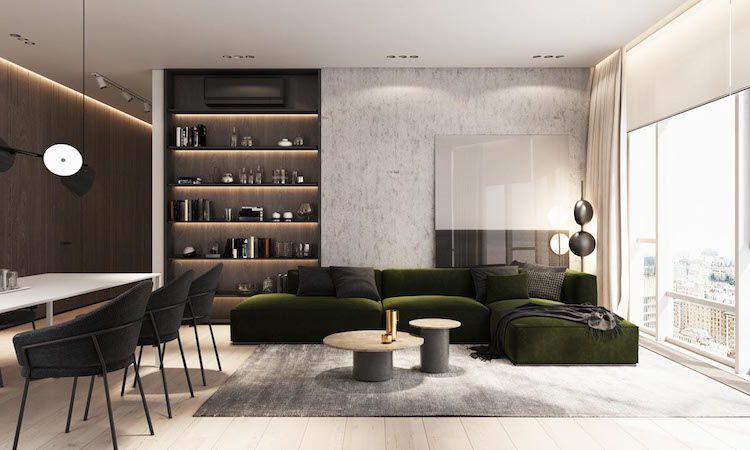 Intérieur minimaliste asiatique 2 idées cool inspirantes et modernes intérieur minimaliste tapis gris et tables basses en bois