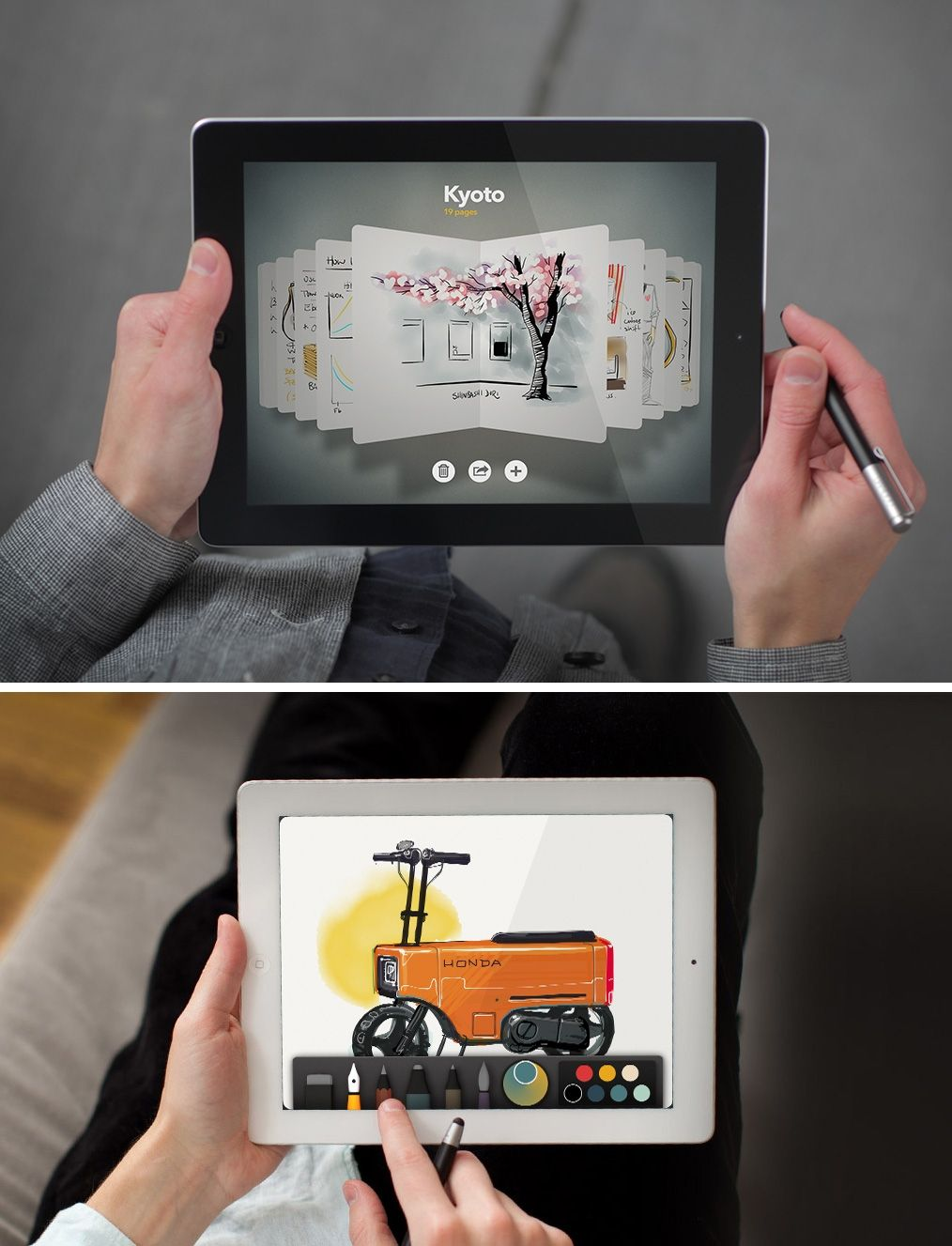 The FiftyThree Paper iPad drawing app is now completely