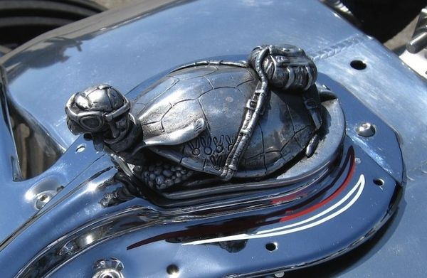 Most Awesome Hood Ornaments You've Ever Seen  - turtle - brilliant