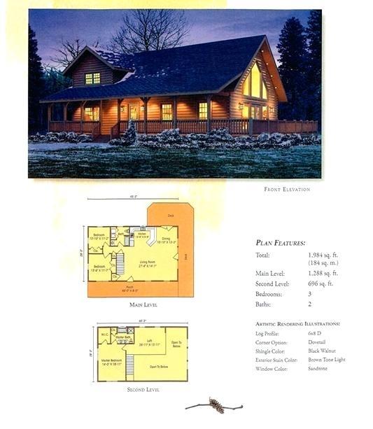Floor Plans Log Homes High Peaks Log Homes Aspen Hill Floor Plan Floor Plans For Ranch Log Homes