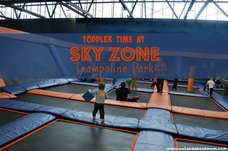 Toddler Time At Sky Zone Trampoline Park Sky Zone Trampoline Park Indoor Play Places