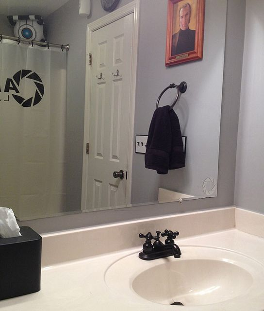 El cuarto de baño de Portal by faseextra, via Flickr (con ...