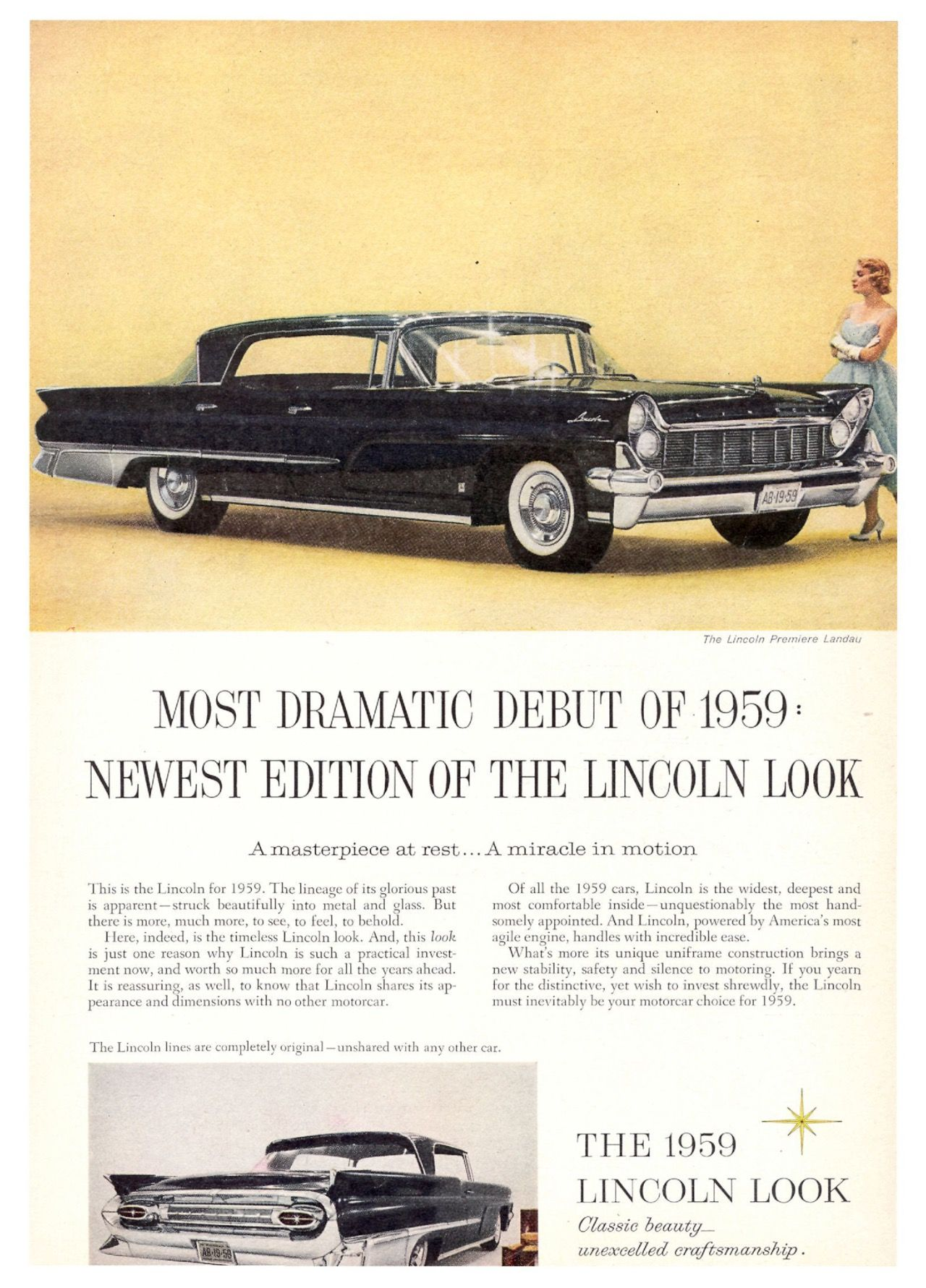 1959 lincoln continental ad historic car photos pinterest cars rh pinterest com
