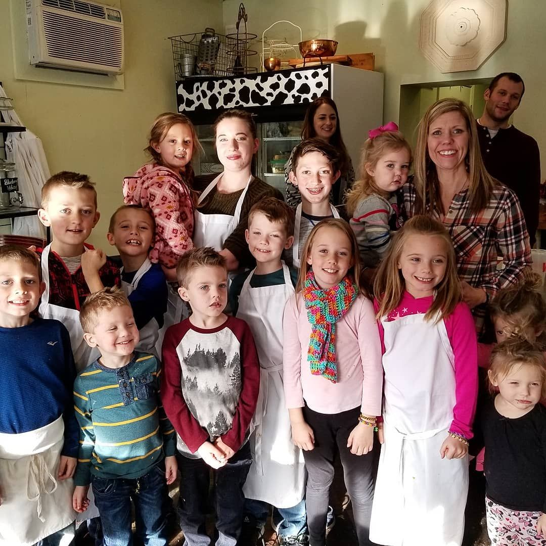 Had a great cooking class with my cousin's kids. Theres going to be 14 new chefs in the family. The
