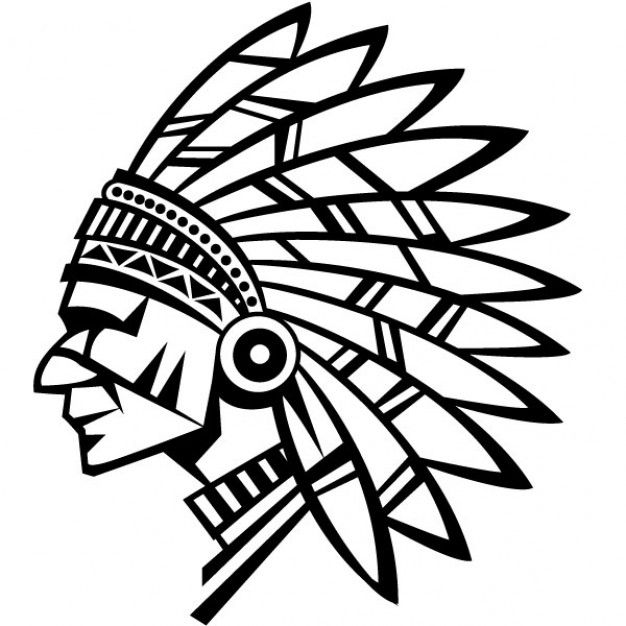 Indian Chief Graphics Vector