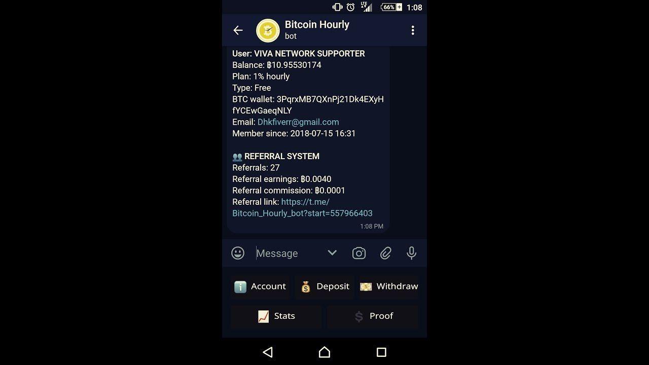Easily get 2 BTC per daily(upadted 18-08-2108) - telegram