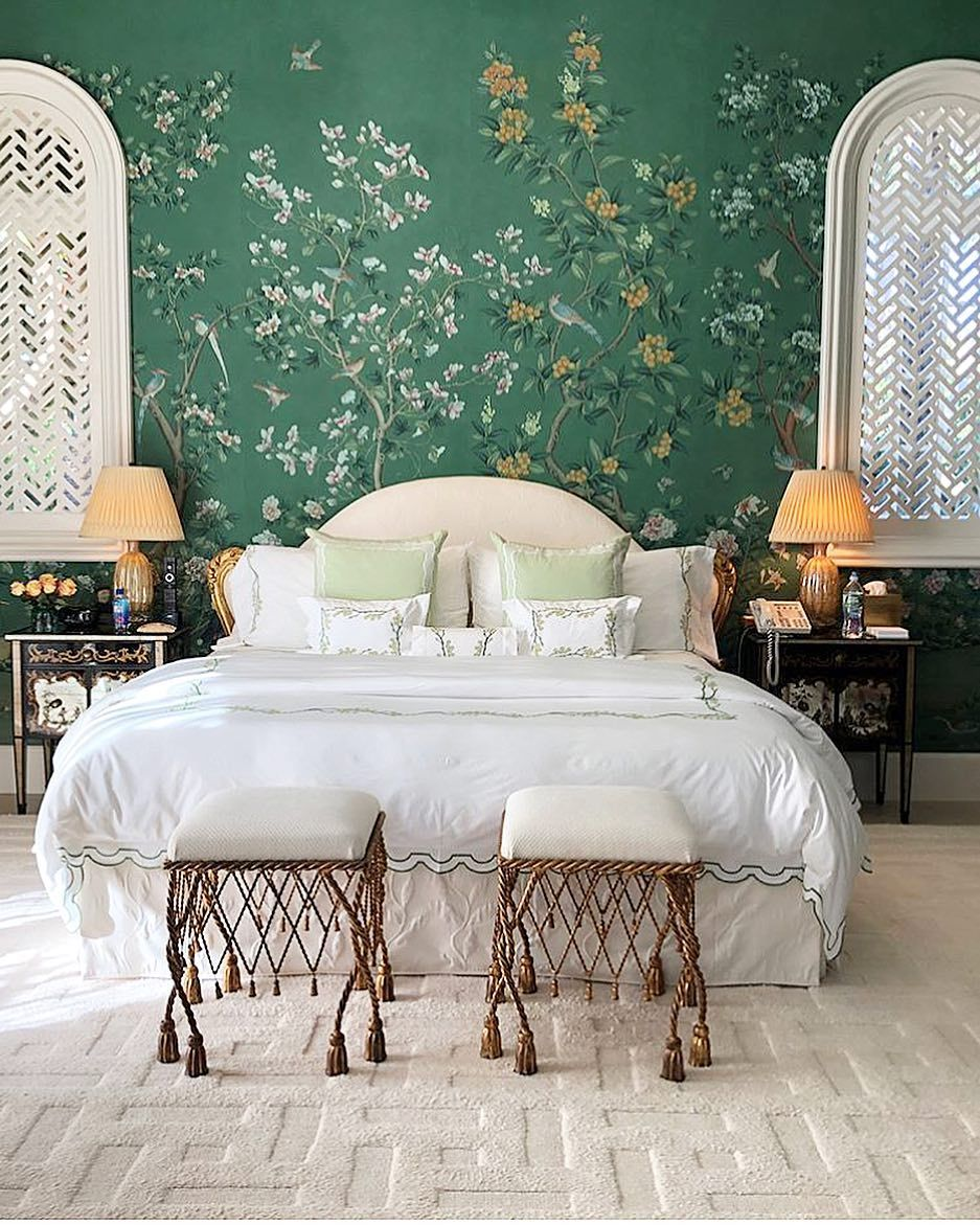 1,642 Likes, 17 Comments   @aerin On Instagram: U201cPrettiest Bedroom I Have