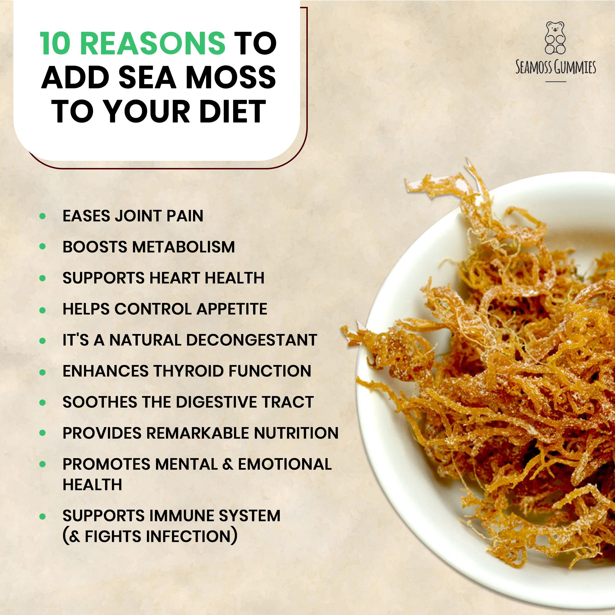Sea Moss Commonly Referred To As Irish Moss In The Caribbean Is One Of The Most Powerful Healthy Digestive Health Seamoss Benefits
