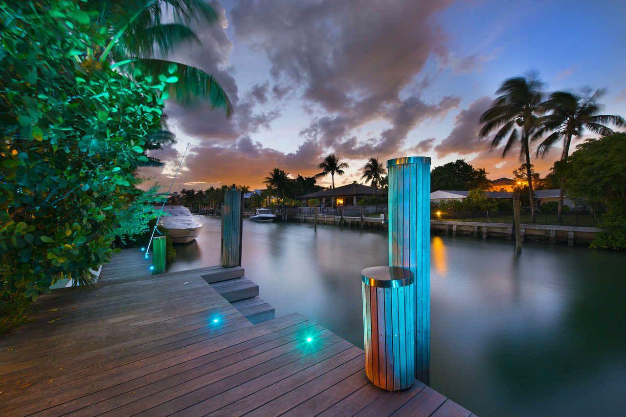 Breezy Home in Key Biscayne Decoraciones de casa
