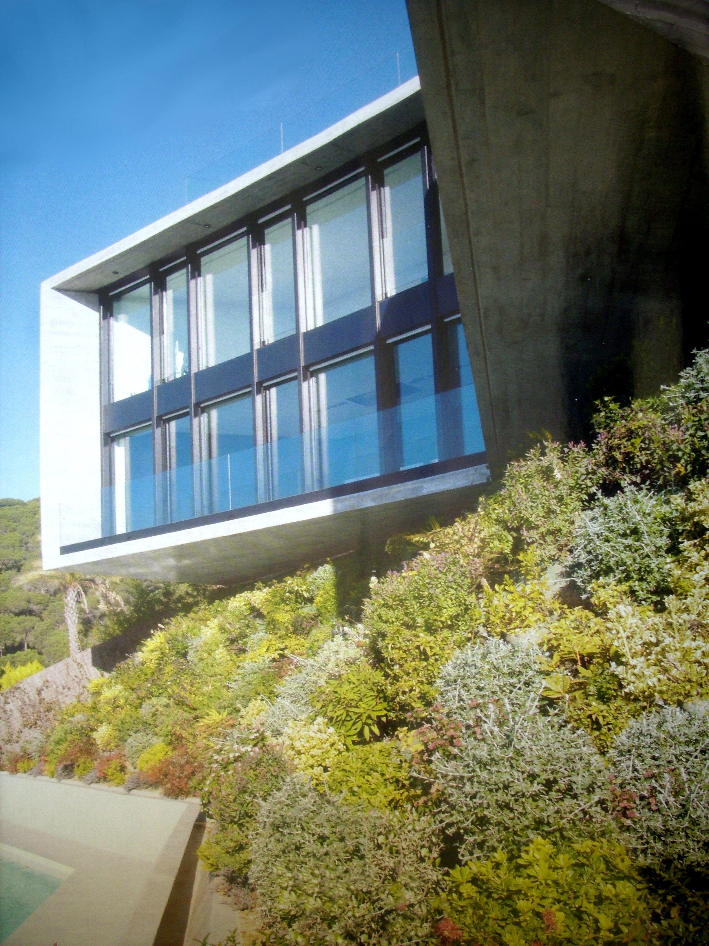 Casa x Microcemento Barcelona Topcret Exterior Vistas