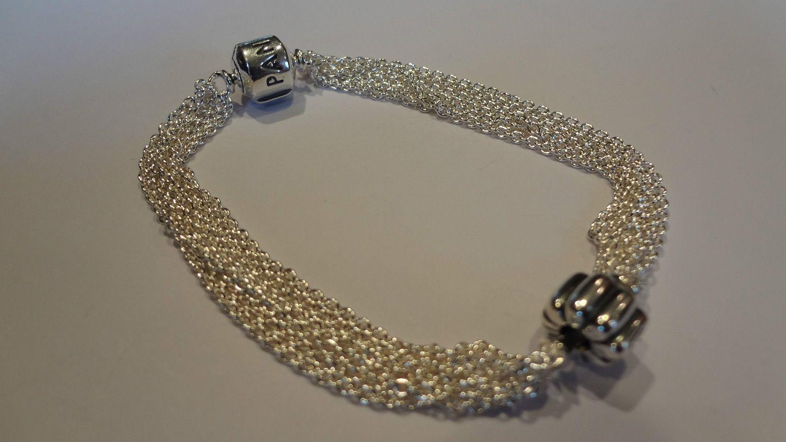 Pandora Bracelet Pandora Silver Multi Strand One Clip Station Bracelet With Charm No Multi Strand Bracelet Multi Chain Bracelet Sterling Silver Bracelets