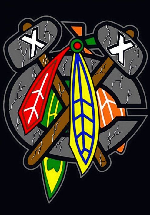Icehockey Ice Hockey Tattoo Chicago Blackhawks Wallpaper Chicago Blackhawks Logo Chicago Blackhawks Hockey
