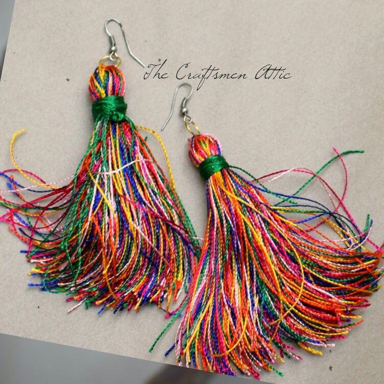 Handmade, Tassel earrings