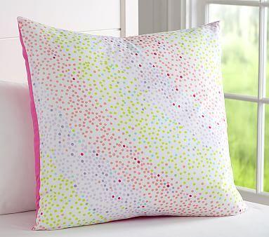 Multi Dot Euro Sham Pottery Barn Kids Kids Pillows