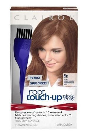 Clairol Nice  n Easy Root Touch-Up Hair Coloring Liquid Kit (medium auburn  medium reddish brown-5) -- Continue to the product at the image link.   hairrepair 1b74103385