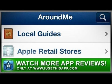 Around Me iPhone App Best iPhone App App Reviews