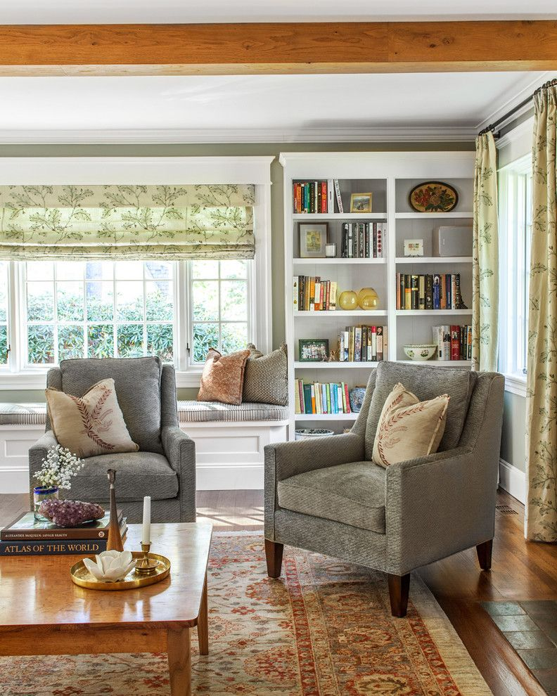 Comely Bookcase Window Seat Image Decor In Living Room Traditional Gorgeous Interior Design Ideas Living Room Traditional Inspiration Design