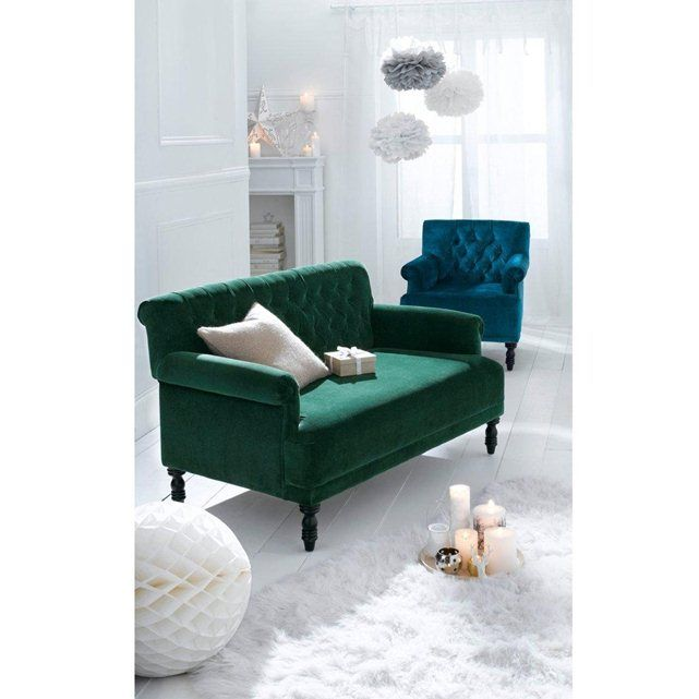 canap 2 places napold la redoute interieurs corners. Black Bedroom Furniture Sets. Home Design Ideas