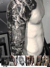 40 fabelhafte Berg Tattoo Designs – Tattoo Sleeve – Natural Playground Ideas – D…  40 fabelhafte Berg Tattoo Designs – Tattoo Sleeve – Natural Playg…