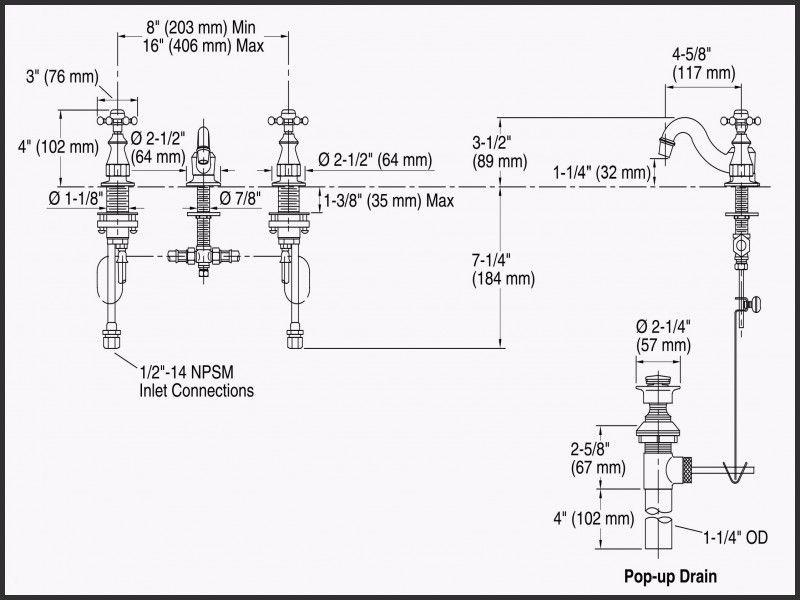 Elegant American Standard Shower Faucet Parts Diagram Keran Kamar Mandi Keran Sweet Home