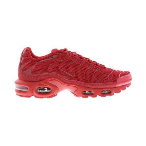 buy online 1ba40 a444b Nike Air Max Plus Tuned 1 TRIPLE RED  All Sizes  RED TN ❤ liked on Polyvore  featuring shoes