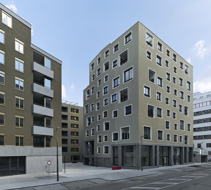 Vienna Park Apartments: Sergison Bates Nordbahnhof 122 Urban Housing And Community