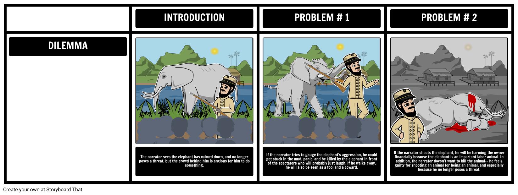 shooting an elephant text
