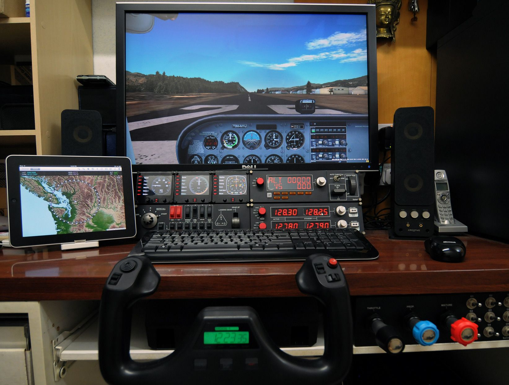 Home flight simulator set up - How To Setup Flight Simulator X Virtual Cockpit
