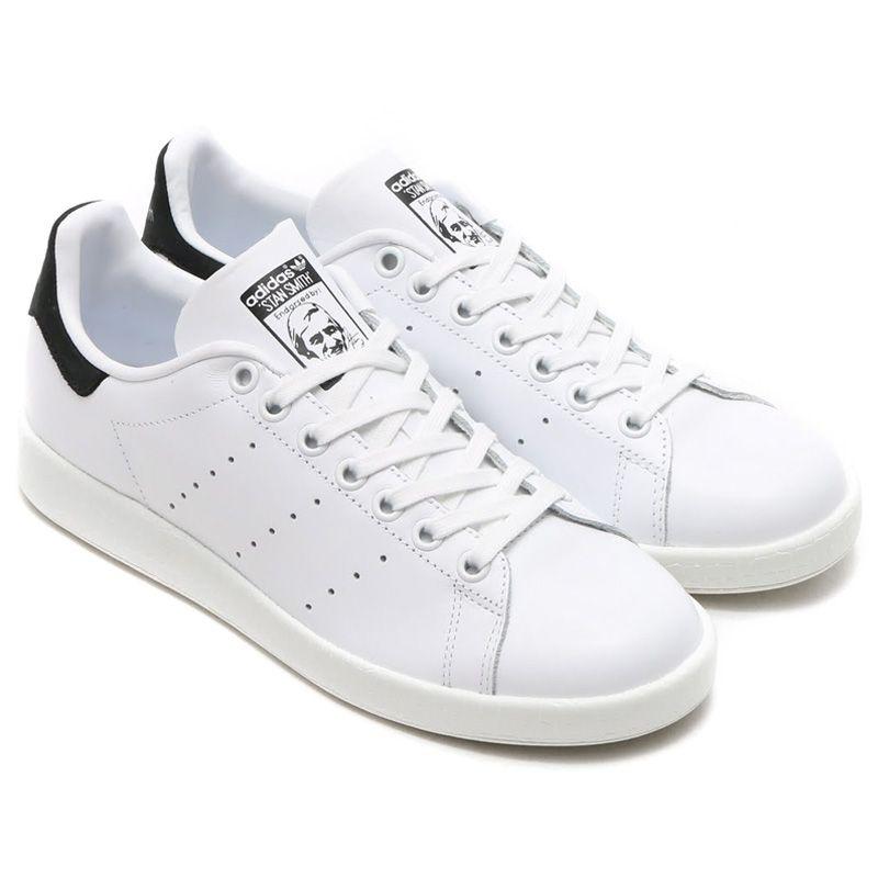 adidas stan smith black white