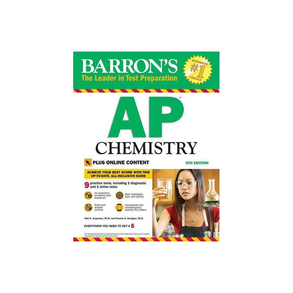 Barron S Ap Chemistry With Online Tests 9 Edition By Pamela - Online Test For Chemical Reactions And Equations