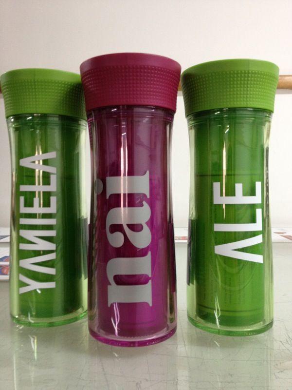 Vaso termico de plastico vasos contigo personalizados pinterest - Vasos personalizados ...