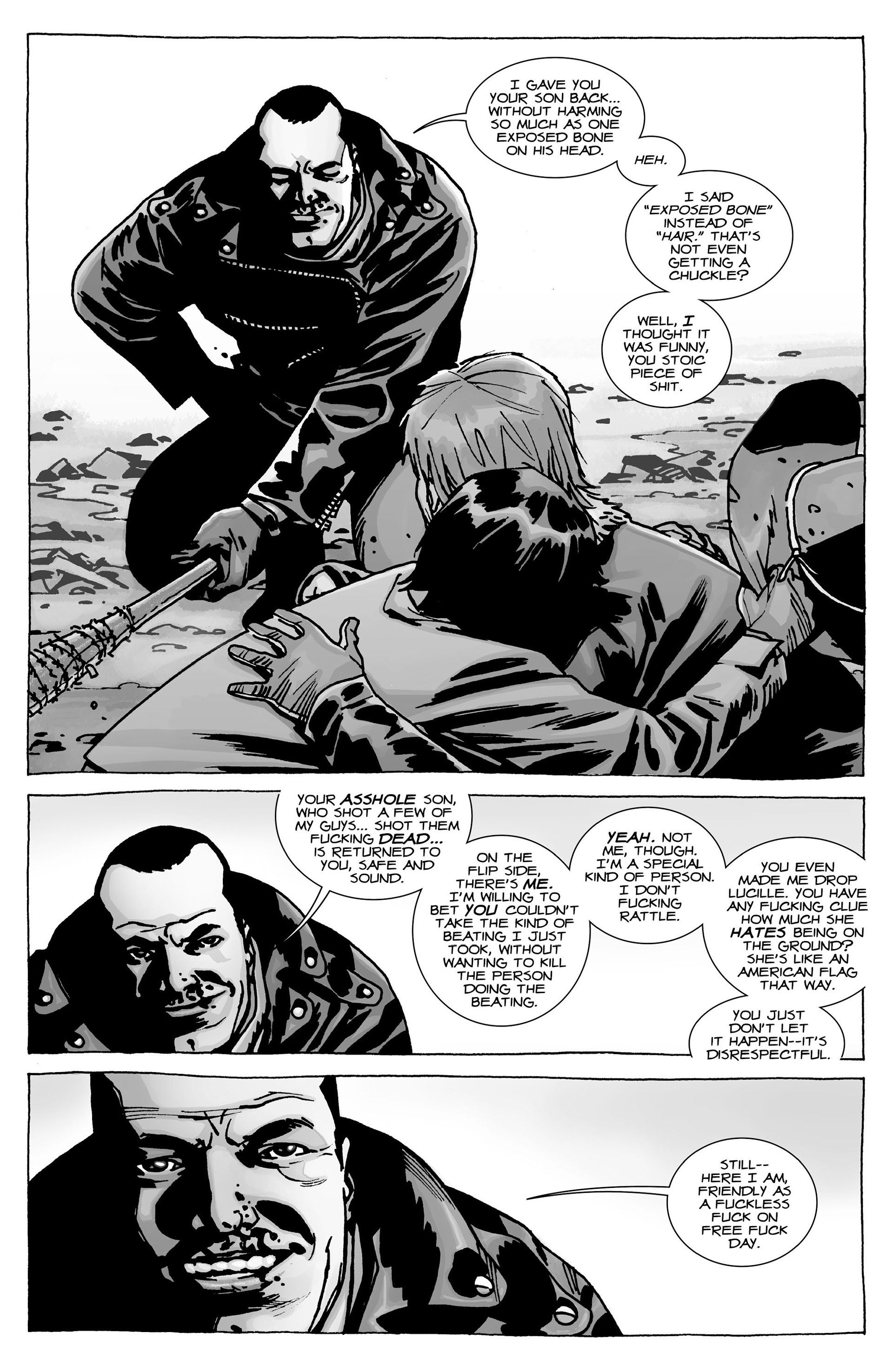 negan can be reasonable (the walking dead) | twd comic and game