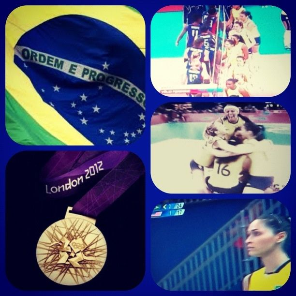 Congratulations girls, you are awesome! Brazil is very proud of all of you!! BICAMPEÃO! See you in Rio!! ;) London Olympics!!