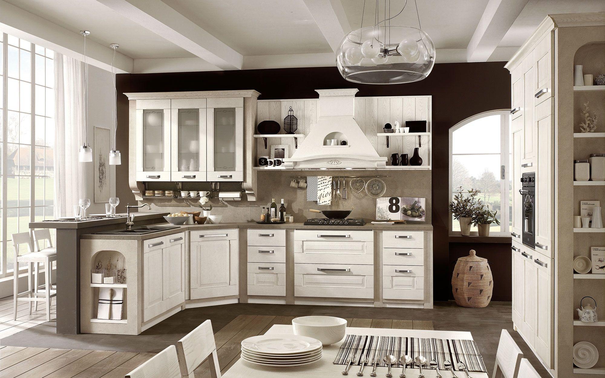 Cucine classiche Stosa - Modello cucina Aida 1840 | Design ...